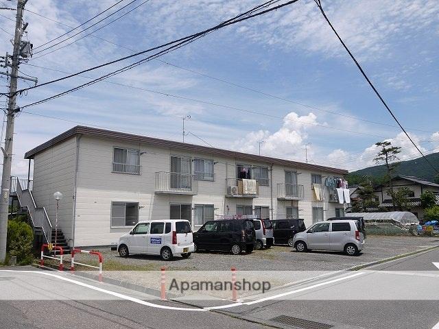 長野県松本市、南松本駅徒歩20分の築27年 2階建の賃貸アパート