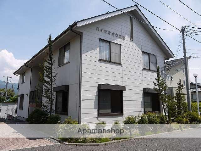 長野県松本市、松本駅バス20分白金町下車後徒歩5分の築22年 2階建の賃貸アパート