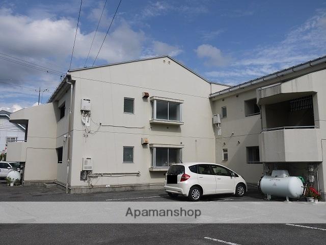 長野県松本市、松本駅徒歩18分の築32年 2階建の賃貸マンション
