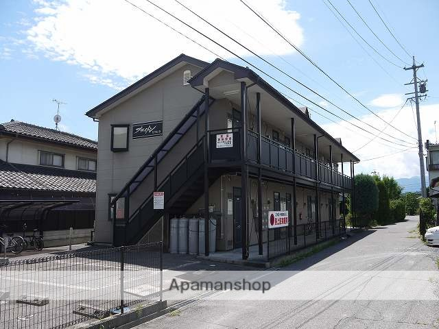 長野県松本市、松本駅バス17分南浅間下車後徒歩7分の築18年 2階建の賃貸アパート