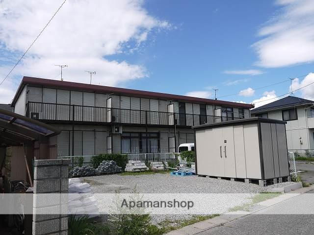 長野県松本市、松本駅アルピコバスバス15分法務局下車後徒歩6分の築29年 2階建の賃貸アパート