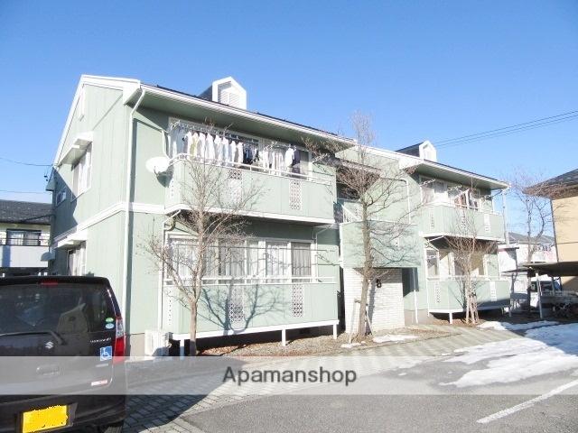 長野県長野市、安茂里駅徒歩10分の築26年 2階建の賃貸アパート