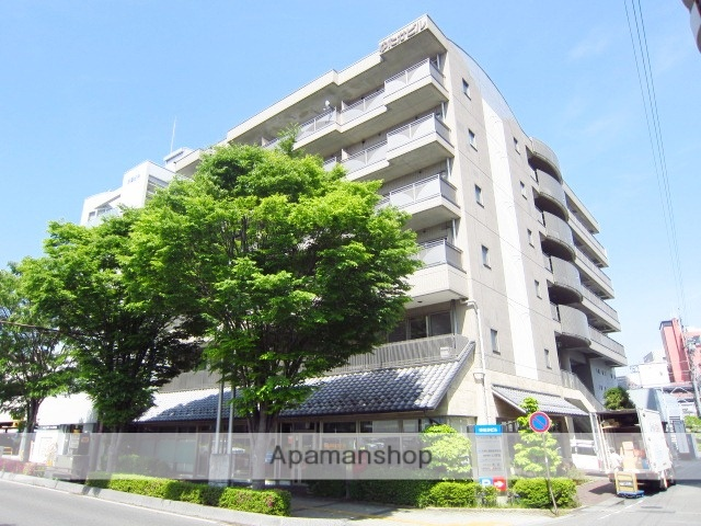長野県長野市、市役所前駅徒歩10分の築20年 6階建の賃貸マンション