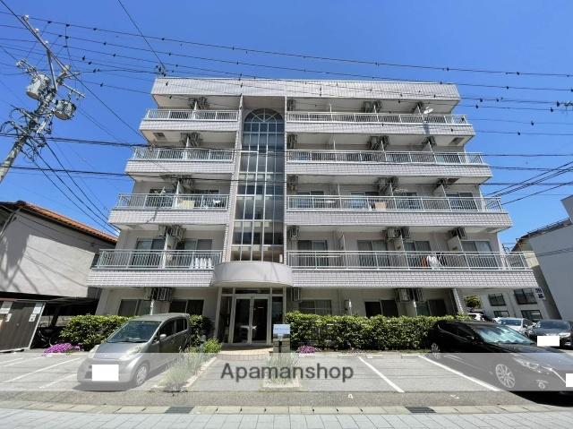 長野県長野市、長野駅徒歩12分の築24年 5階建の賃貸マンション