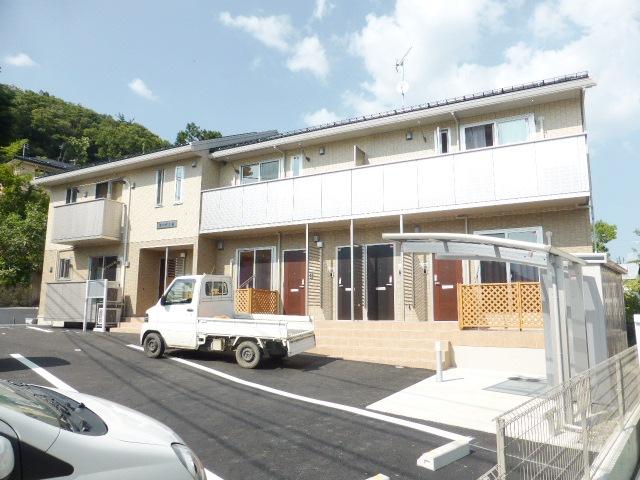 長野県長野市、権堂駅徒歩25分の築2年 2階建の賃貸アパート