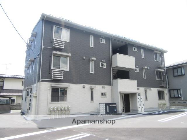 長野県長野市、本郷駅徒歩20分の新築 3階建の賃貸アパート