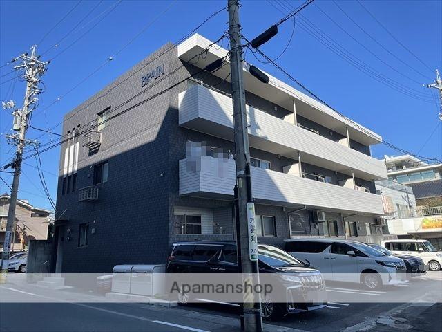 長野県長野市、長野駅徒歩13分の新築 3階建の賃貸マンション
