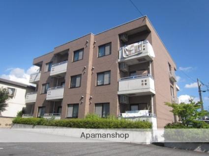 長野県長野市、市役所前駅徒歩18分の築19年 3階建の賃貸マンション