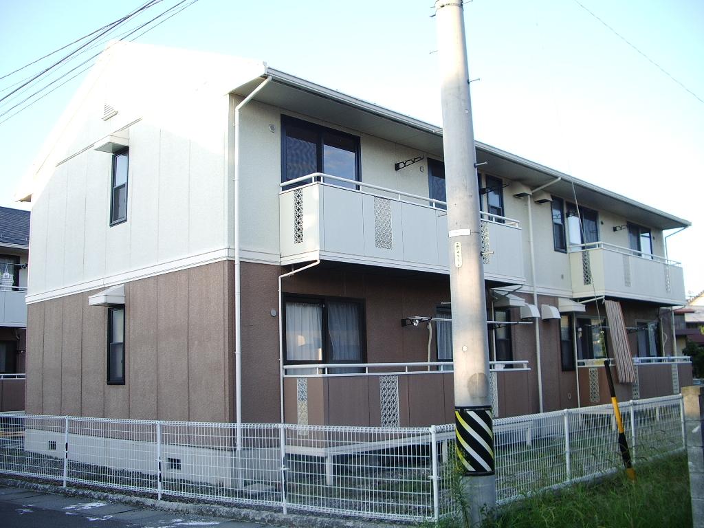 長野県長野市、篠ノ井駅徒歩13分の築22年 2階建の賃貸アパート