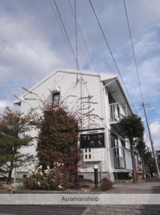 長野県長野市、安茂里駅徒歩21分の築28年 2階建の賃貸アパート