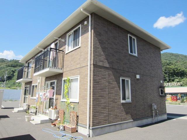 長野県長野市、安茂里駅徒歩3分の築12年 2階建の賃貸アパート