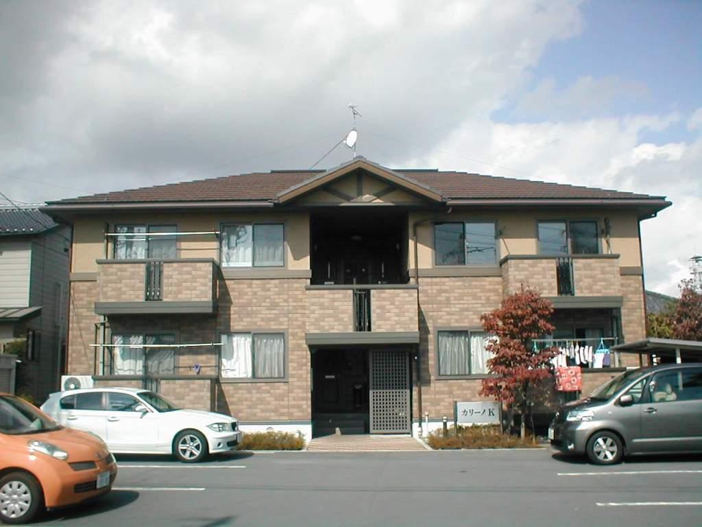 長野県長野市、篠ノ井駅徒歩10分の築16年 2階建の賃貸アパート