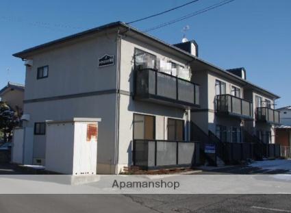 長野県長野市、篠ノ井駅徒歩17分の築22年 2階建の賃貸アパート