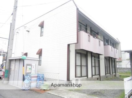 長野県長野市、市役所前駅徒歩14分の築32年 2階建の賃貸アパート