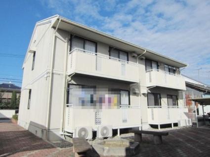 長野県長野市、篠ノ井駅徒歩10分の築23年 2階建の賃貸アパート