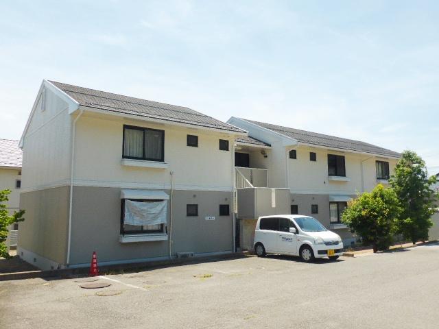 長野県長野市、安茂里駅徒歩15分の築24年 2階建の賃貸アパート
