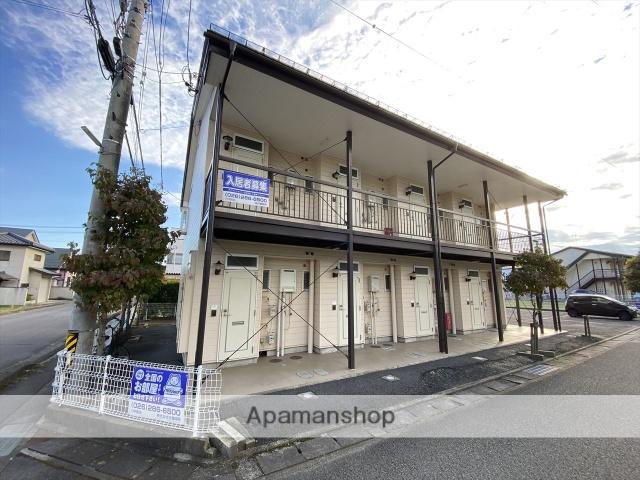 長野県長野市、川中島駅徒歩30分の築27年 2階建の賃貸アパート