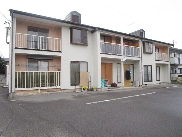 長野県長野市、善光寺下駅徒歩19分の築27年 2階建の賃貸アパート