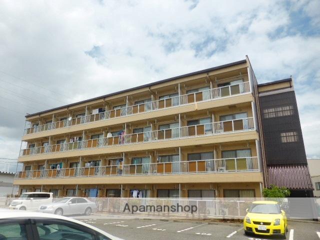 長野県長野市、附属中学前駅徒歩49分の築23年 4階建の賃貸マンション