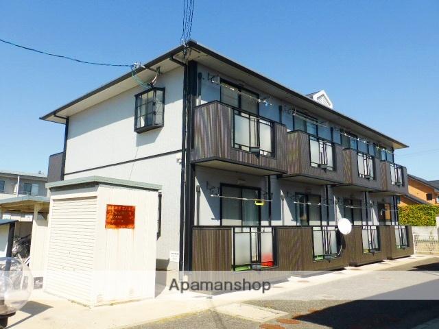 長野県長野市、市役所前駅徒歩22分の築24年 2階建の賃貸アパート