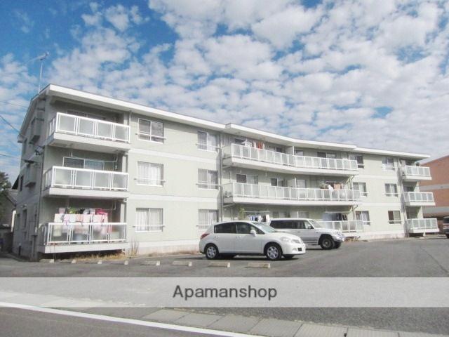 長野県長野市、市役所前駅徒歩20分の築29年 3階建の賃貸マンション