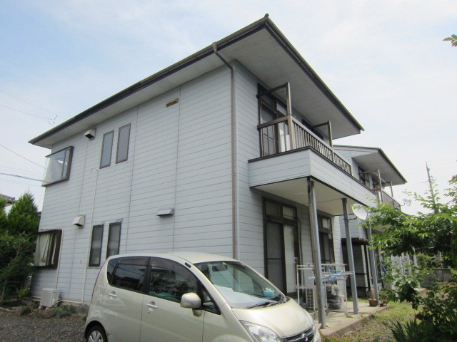 長野県長野市、篠ノ井駅徒歩6分の築24年 2階建の賃貸アパート