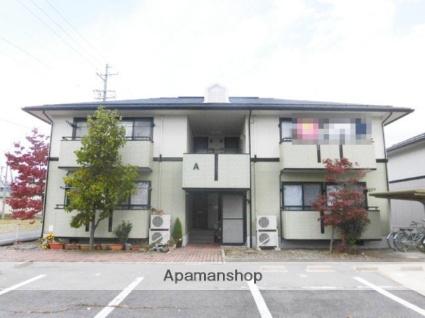 長野県長野市の築20年 2階建の賃貸アパート