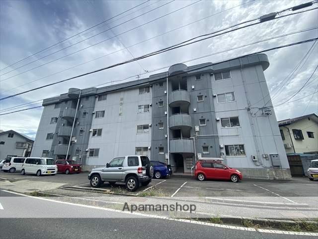 長野県長野市、権堂駅徒歩23分の築40年 4階建の賃貸マンション