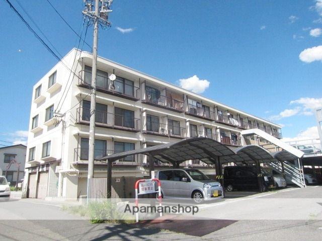 長野県長野市、市役所前駅徒歩25分の築33年 3階建の賃貸マンション