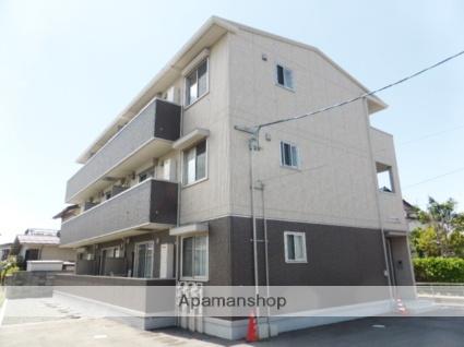 長野県長野市、市役所前駅徒歩30分の築4年 3階建の賃貸マンション