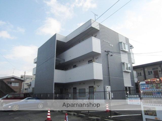 長野県長野市、市役所前駅徒歩29分の築28年 3階建の賃貸マンション