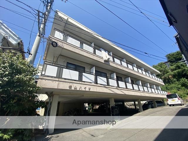 長野県長野市、権堂駅徒歩10分の築25年 3階建の賃貸マンション