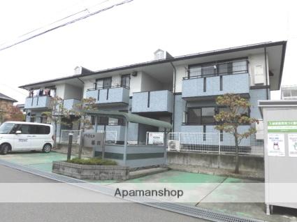 長野県長野市、北長野駅徒歩17分の築20年 2階建の賃貸アパート