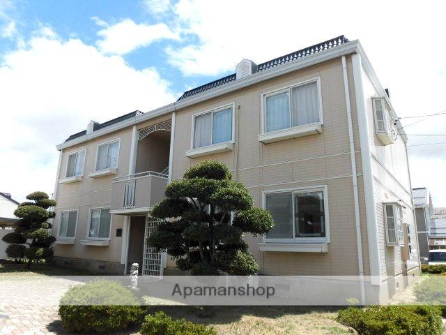 長野県長野市、北長野駅徒歩13分の築23年 2階建の賃貸アパート
