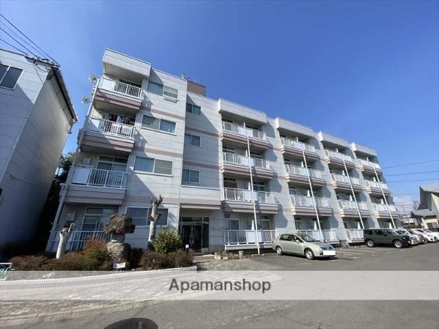 長野県長野市、長野駅徒歩29分の築24年 4階建の賃貸マンション