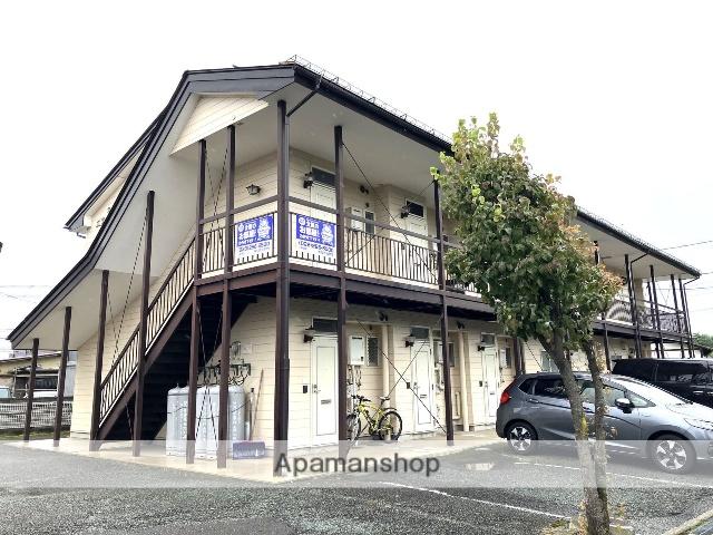 長野県長野市、川中島駅徒歩30分の築29年 2階建の賃貸アパート
