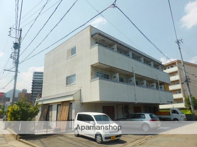 長野県長野市、市役所前駅徒歩11分の築28年 3階建の賃貸マンション