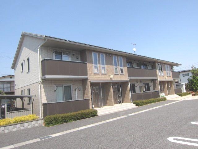 長野県長野市、三才駅徒歩21分の築6年 2階建の賃貸アパート
