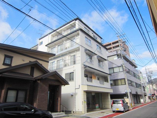 長野県長野市、市役所前駅徒歩10分の築36年 5階建の賃貸マンション