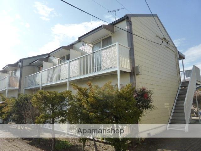 長野県長野市、市役所前駅徒歩16分の築30年 2階建の賃貸アパート
