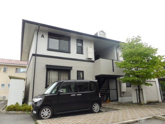 長野県長野市、長野駅徒歩56分の築23年 2階建の賃貸アパート