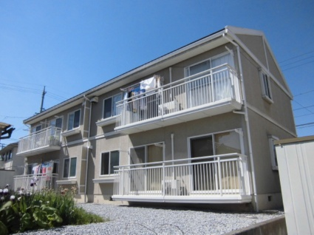 長野県長野市、北長野駅徒歩19分の築22年 2階建の賃貸アパート