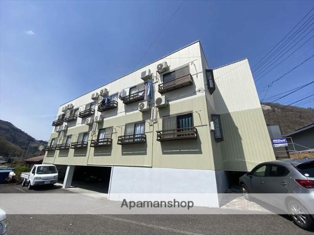 長野県長野市、市役所前駅徒歩29分の築20年 3階建の賃貸マンション