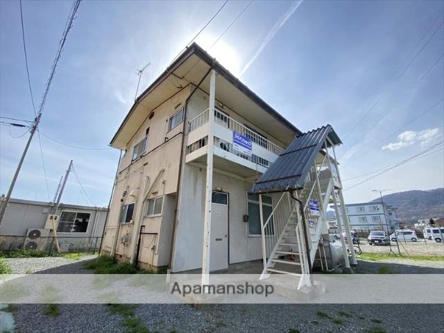 長野県長野市、安茂里駅徒歩23分の築42年 2階建の賃貸アパート