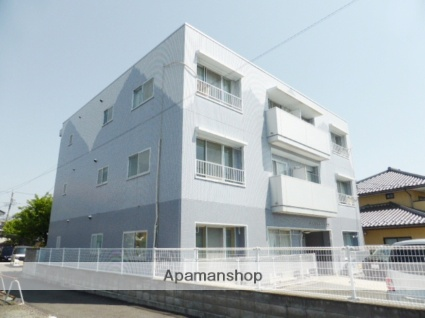 長野県長野市、権堂駅徒歩8分の築25年 3階建の賃貸マンション