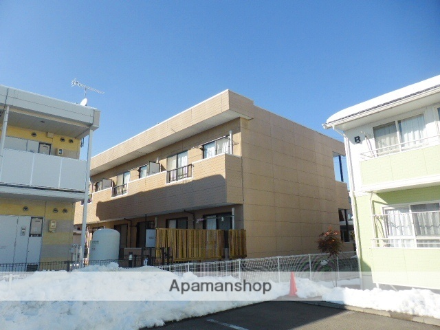長野県長野市、長野駅徒歩26分の築24年 2階建の賃貸アパート