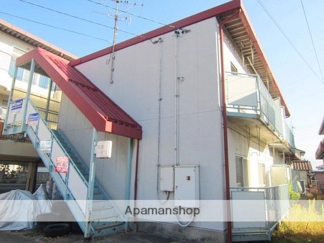 長野県長野市、北長野駅徒歩21分の築35年 2階建の賃貸アパート