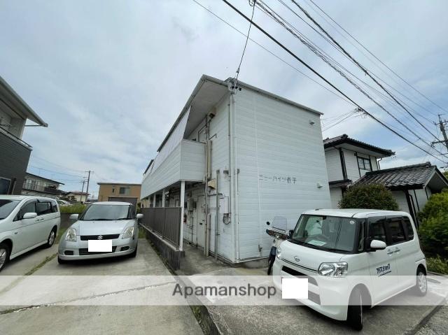 長野県長野市、安茂里駅徒歩15分の築29年 2階建の賃貸アパート