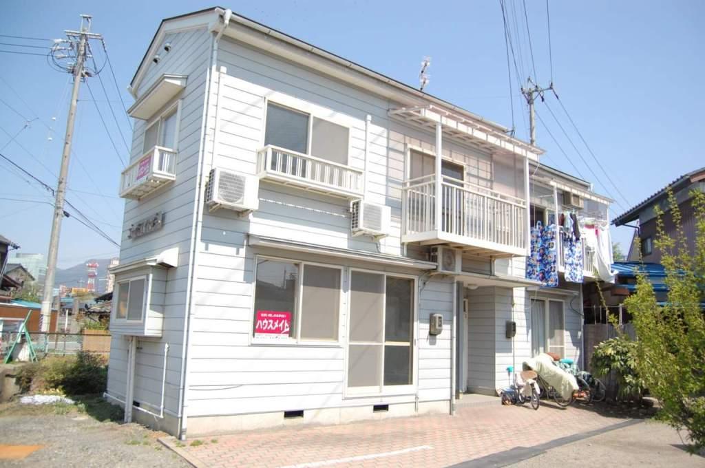 長野県長野市、市役所前駅徒歩16分の築28年 2階建の賃貸アパート