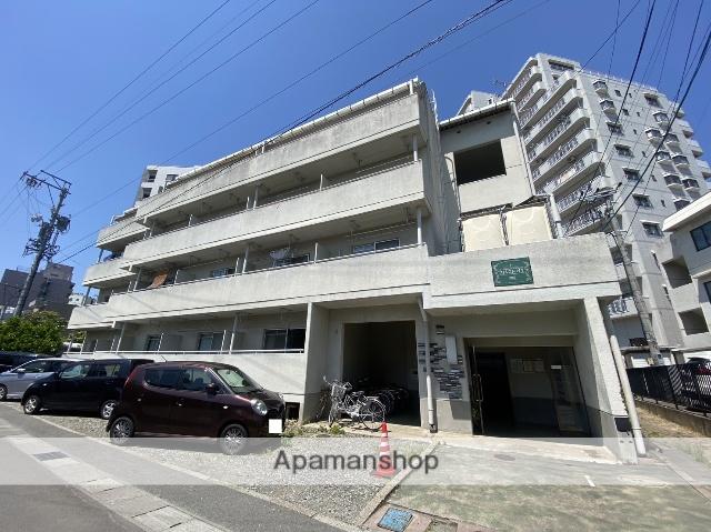 長野県長野市、市役所前駅徒歩13分の築31年 4階建の賃貸マンション